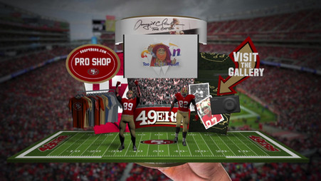San Francisco 49ers Augmented Reality