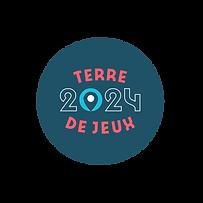 Terre de Jeux 2024 - Logotype - Poly - p