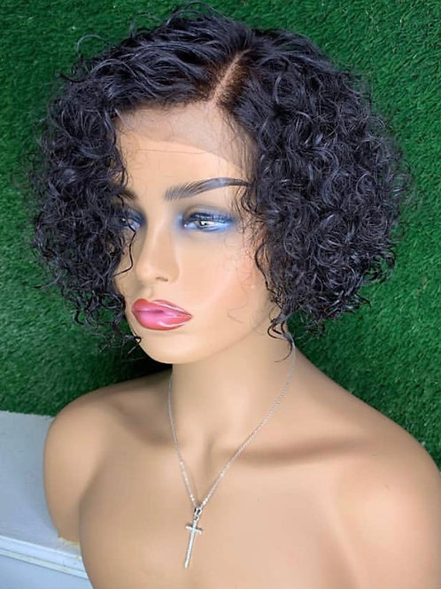 8 inch frontal wig