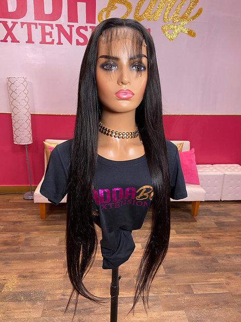 Straight Closure Wig 28'