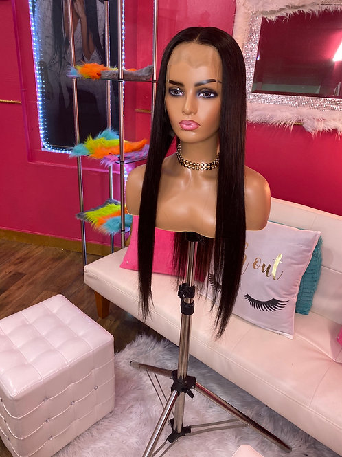 26 Straight frontal Wig