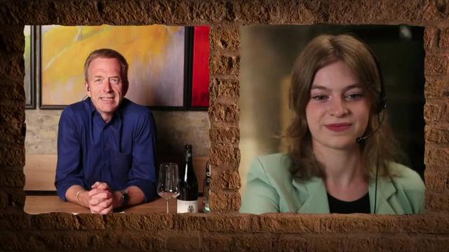 """Charlotte Weihl studiert """"Internationale Weinwirtschaft"""" im 2. Semester in Geisenheim"""