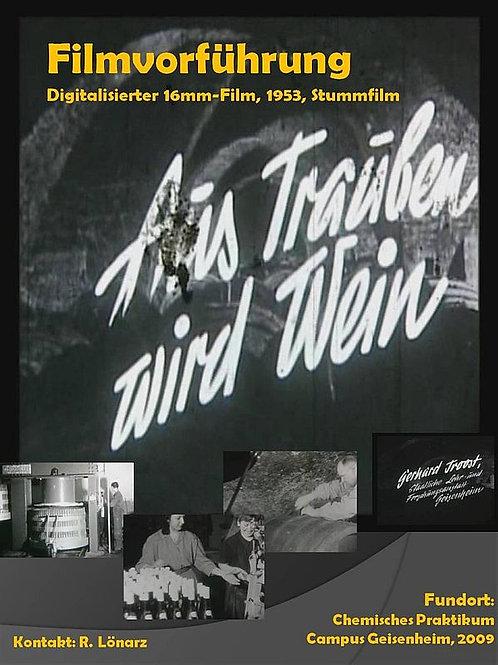 """DVD """"Aus Trauben wird Wein"""""""
