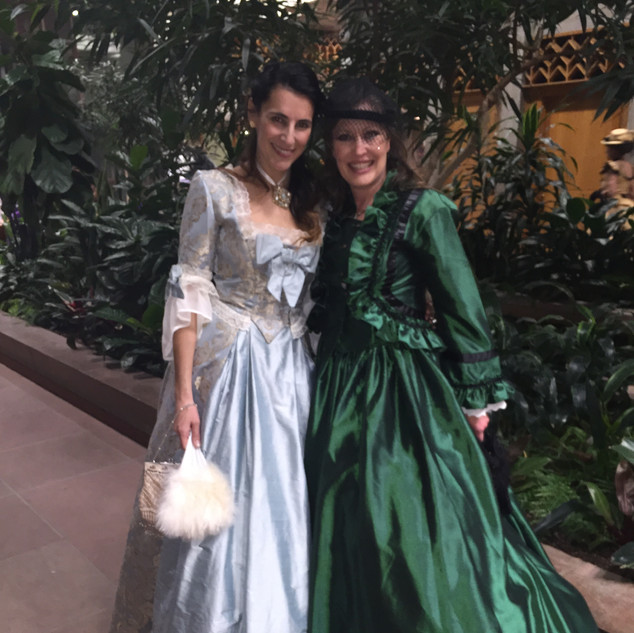 Botanic Gardens Victorian Event - Nico Nagel and Lora Cheadle