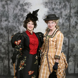 Victorian Society of Colorado Members: Linda Huerta and Liz Smith
