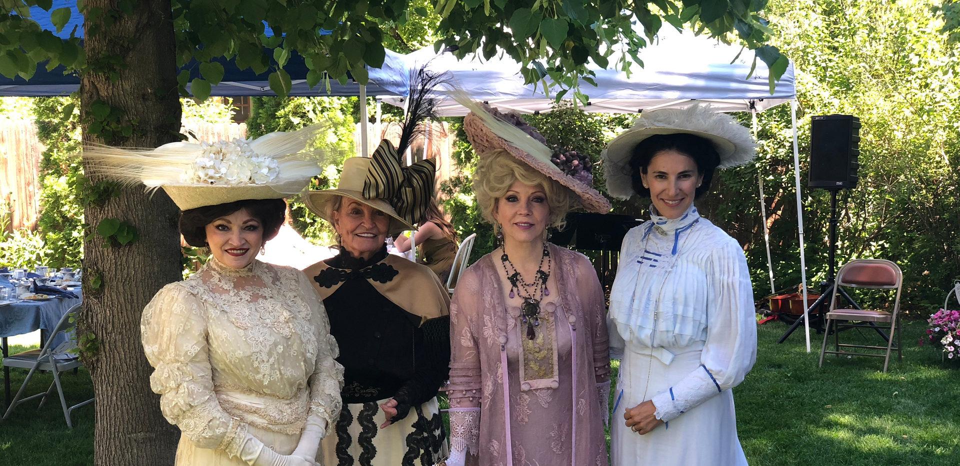 Tea in Fort Collins, CO - Rita Smith, Dottie Bakke, Lonna Miller & Nico Nagel