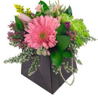 Caja con bouquet surtido