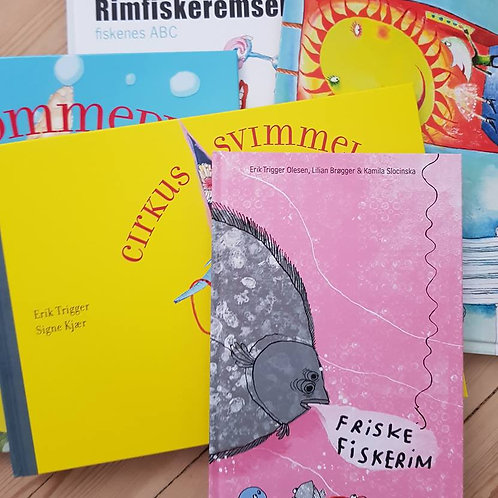 Børnepakke - 5 bøger