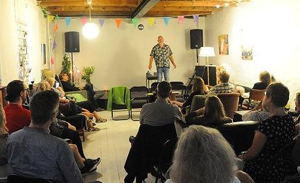 Foredrag med forfatter Erik Trigger