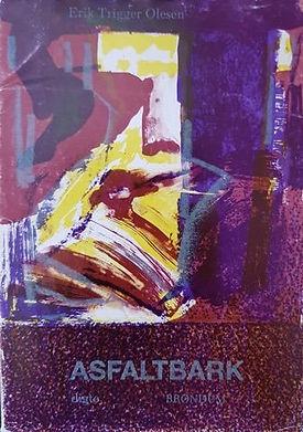 Asfaltbark, digtsamling af Erik Trigger