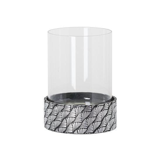 'Clarice' Art Deco Swirl Candle Holder
