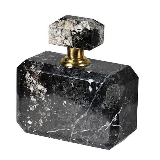 'Selena' Black Marble Perfume Bottle