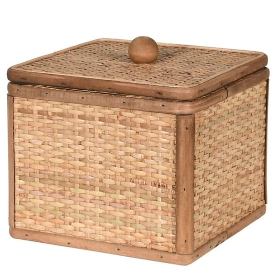 'Kona' Large Woven Square Box