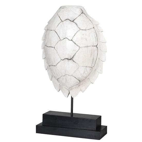 'Kurma' White Turtle Sculpture