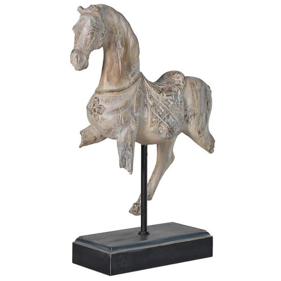 'Freya' Distressed Horse Sculpture