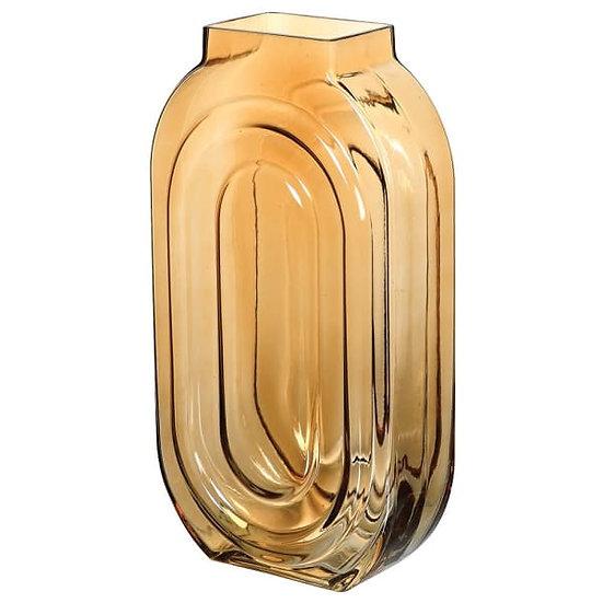 'Flaxon' Tall Glass Vase