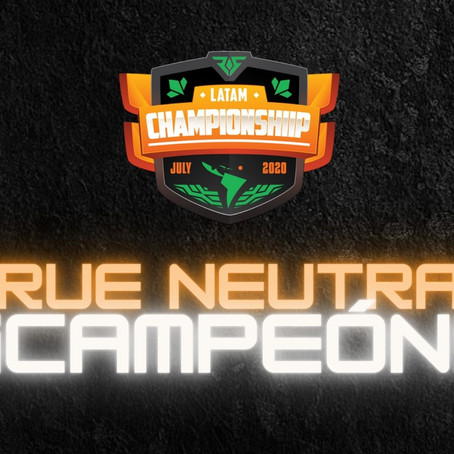 True Neutral: primer campeón latinoamericano hispanohablante