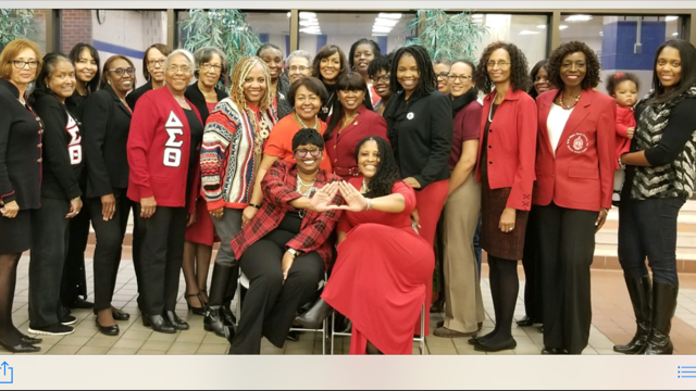 Welcome Reception with Soror Johnson