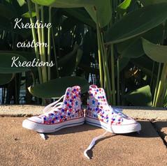 Hello Kitty Rhinestone Converse