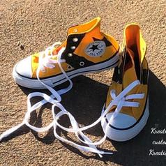 Glitterized Converse