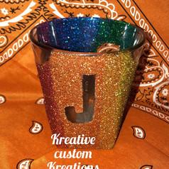 JB rainbow cup