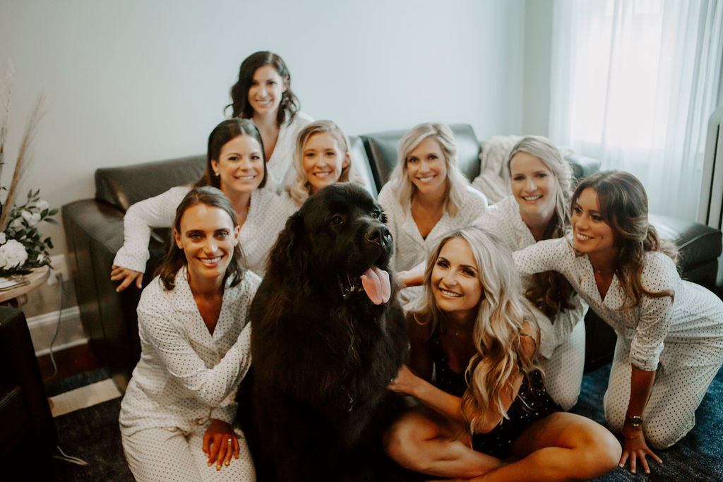 Kindall-Hal-Wedding-Dog-Bridesmaids-Char