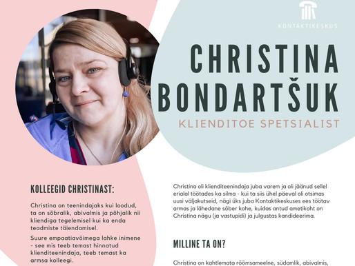 Persoonilugu - Christina