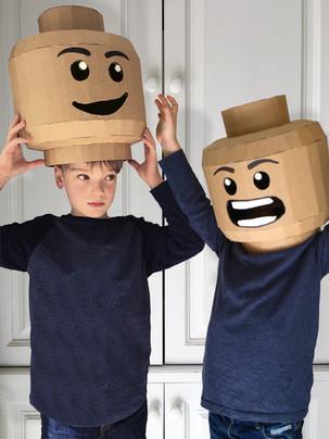 Cardboard Brickheads