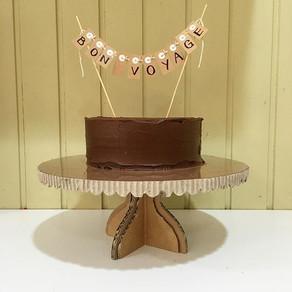 CARDBOARD CAKE STANDS