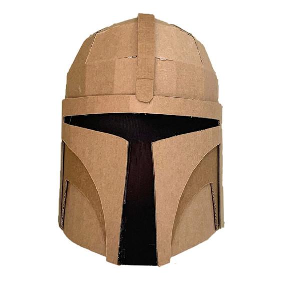 How to make a cardboard bounty hunter