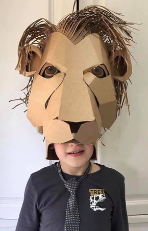 Lion Headdress Costume