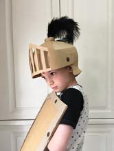 Cardboard Knights Costume