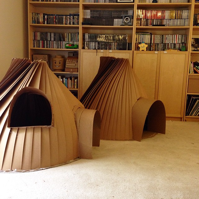 cardboard kids igloo diy cardboard costume templates zygote brown designs. Black Bedroom Furniture Sets. Home Design Ideas