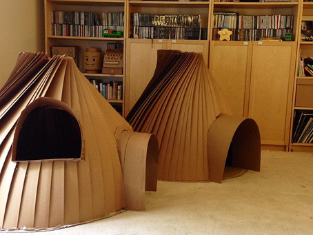 CARDBOARD KIDS IGLOO