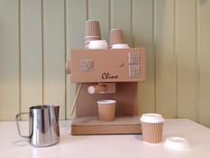 Cardboard Toy Cappuccino Machine