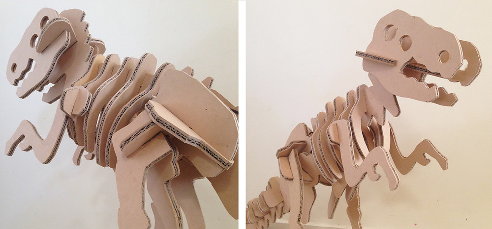 Large Cardboard/MDF Dinosaur