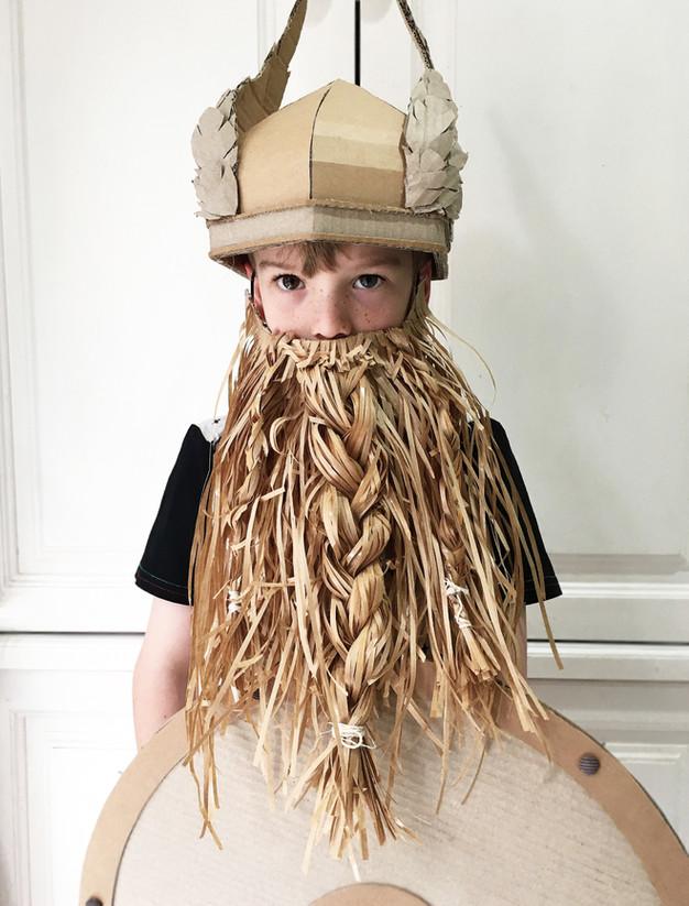 Diy Paper Beard Costume
