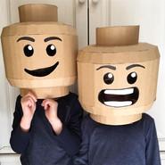 Cardboard Brickhead