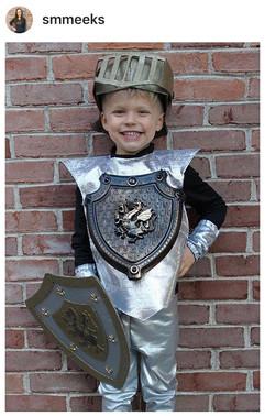 DIY Knights Helmet