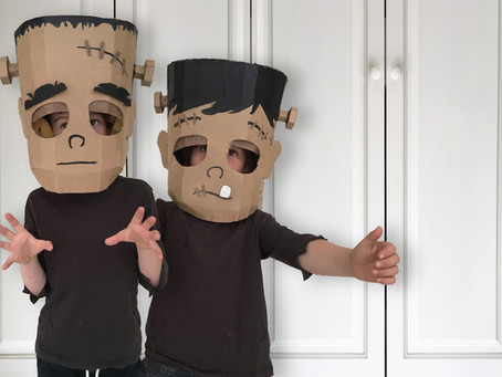 DIY FRANKENSTEIN COSTUME