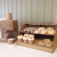 Cardboard Cappuccino Machine