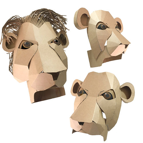 Lion Headdresses
