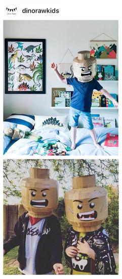 DIY Brickhead Template