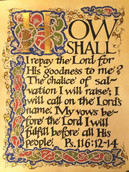 Psalm 116 Manuscript