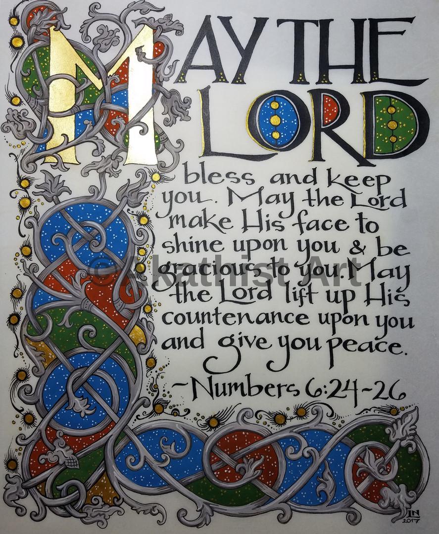 Numbers 6:24-26 Manuscript