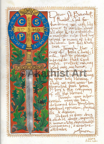 St. Benedict Prayer