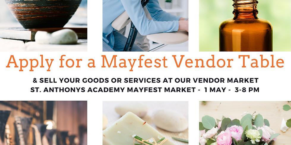 Mayfest Vendor Market - Vendor Registration