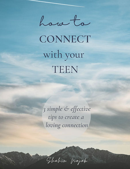 COVER PAGE-HOW TO CONNECT WITH YOUR TEEN