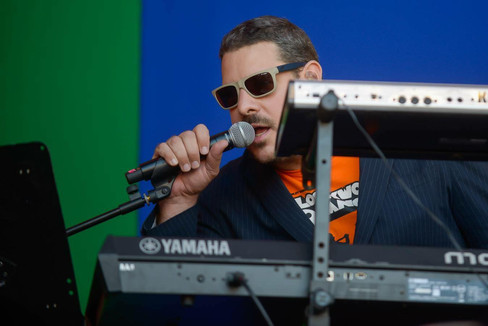 Max MAsri at the Womad