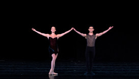 Dancers of the Charlotte Ballet perform at the Chautauqua Institution Monday, July 15, 2019.